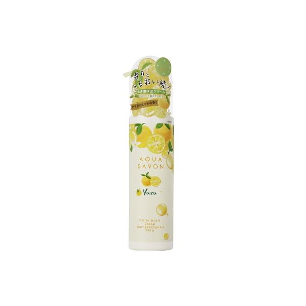 アクアシャボン AQUA SAVON トータルマルチクリーム ゆずの香り 20A 230g 数量限定品 柚子 ユズ 【あすつく休止中】