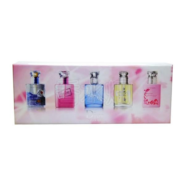 クリスチャンディオール イン ラブ ウィズ ディオール 7.5ml×5 SP (並行輸入) ミニチュア香水 セット 香水 フレグランス ギフト|kousuibatake1