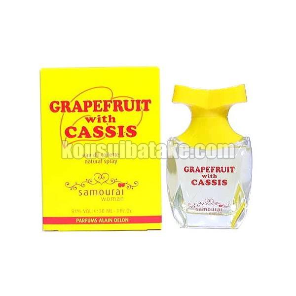 アランドロン サムライウーマン フルーツシリーズ グレープフルーツ ウィズ カシス EDT SP 30ml 香水 フレグランス|kousuibatake1