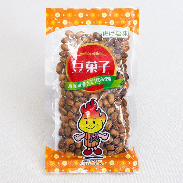 豆菓子 揚げ塩味 90g おやつ おつまみ グルメ 大豆 kousya 02