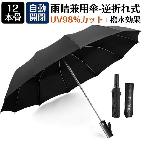 折りたたみ傘自動開閉ワンタッチ大きい丈夫折り畳み傘晴雨兼用超軽量108cm超大サイズTeflon加工耐強風設計UVカットUPF5
