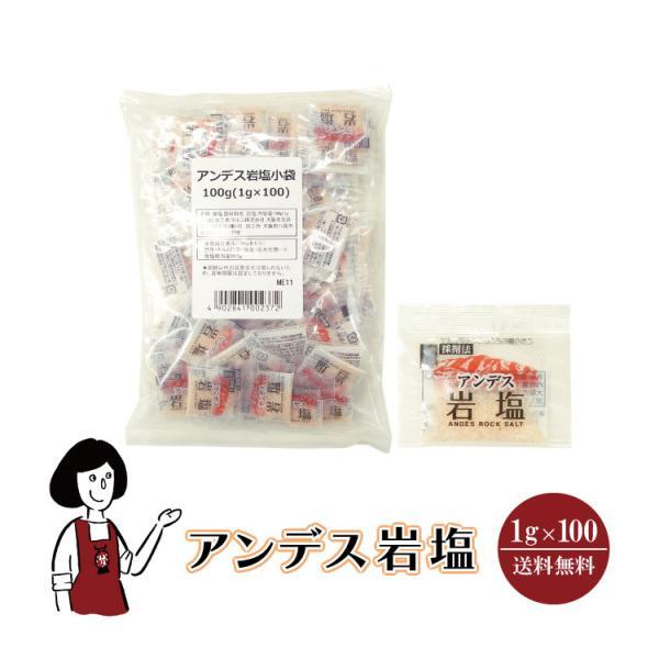 アンデス岩塩 1g×100袋