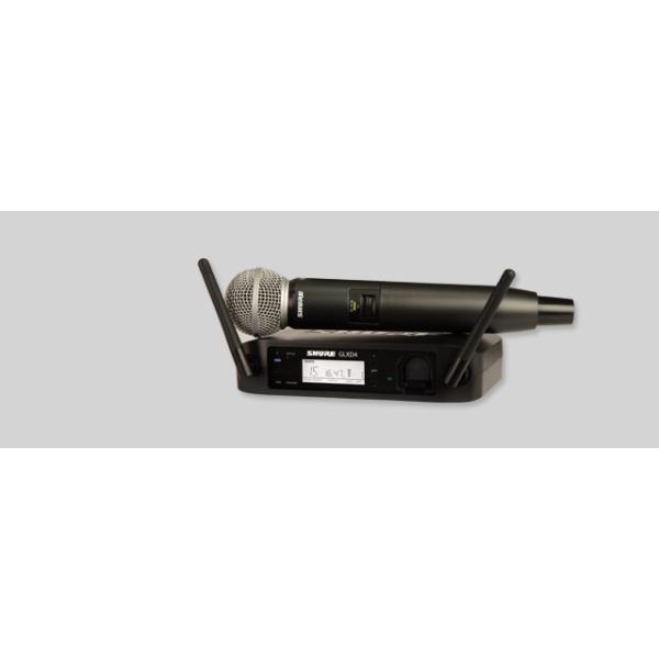 GLXD24/SM58  ハンドヘルド型ワイヤレスシステム オープン価格 [SHURE]