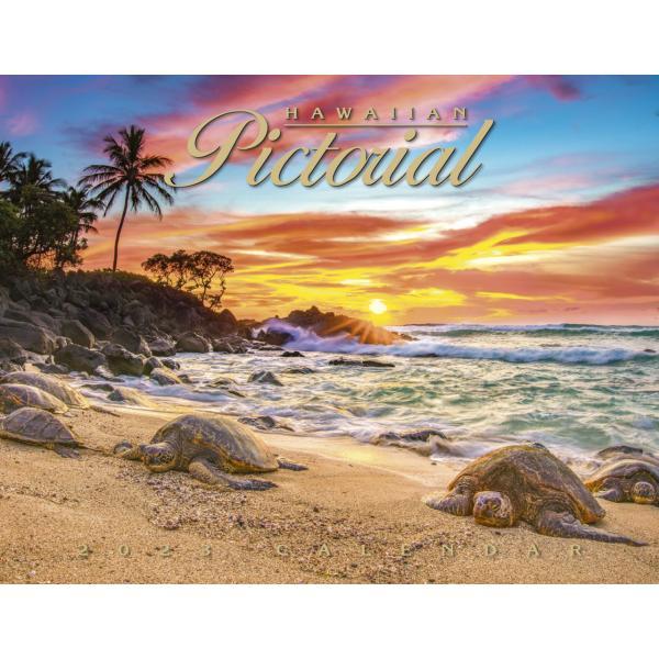 送料無料! 2020年 ハワイカレンダー Hawaiian Pictorial ハワイアンピクトリアル 2020 ハワイアン雑貨 koyomi10