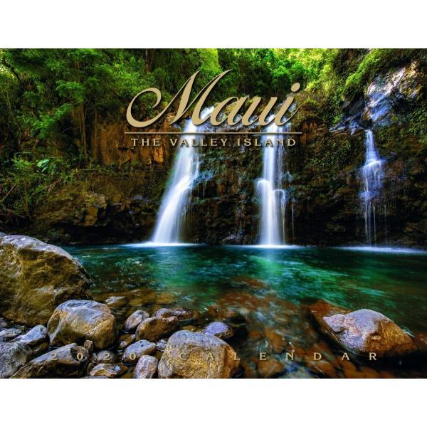 送料無料! 2020年 ハワイカレンダー Maui The Valley Island マウイ島 2020 ハワイアン雑貨|koyomi10