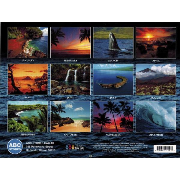 送料無料! 2020年 ハワイカレンダー Maui The Valley Island マウイ島 2020 ハワイアン雑貨|koyomi10|02