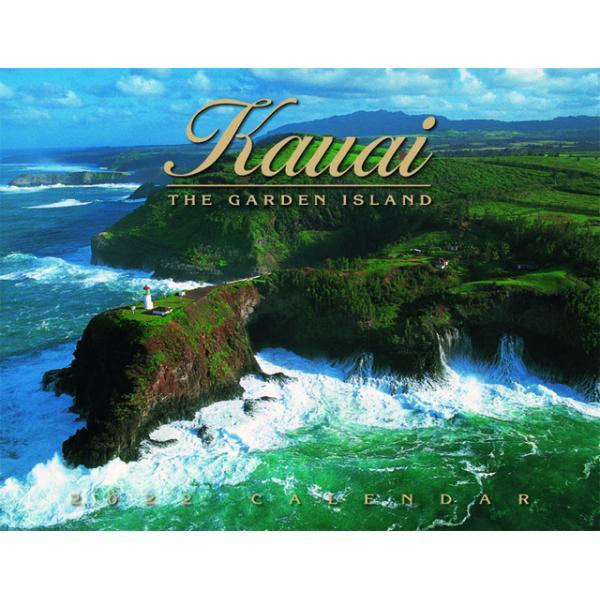 送料無料! 2020年 ハワイカレンダー The Garden Island カウアイ島 2020 ハワイアン雑貨 koyomi10