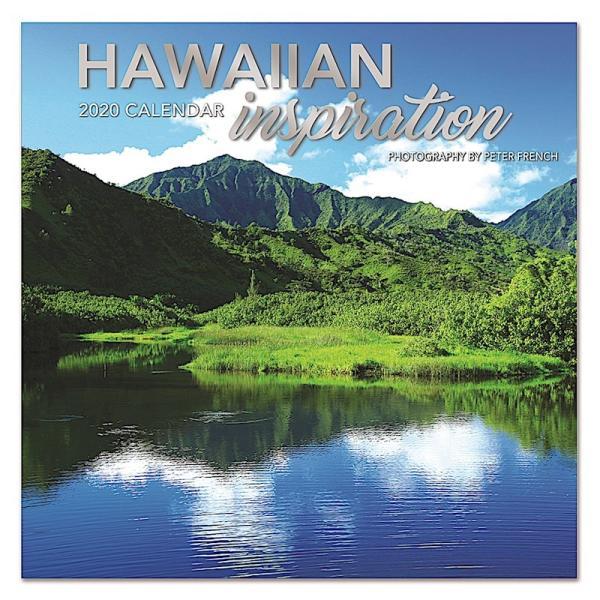 送料無料!2020年 アイランドヘリテイジ社製 ハワイ カレンダー 2020 Hawaiian Inspiration Peter French オアフ マウイ ハワイ島 夕日 ハワイアン雑貨|koyomi10