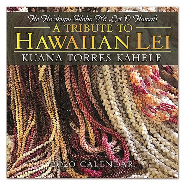 送料無料!2020年 アイランドヘリテイジ社製 ハワイカレンダー 2020 A Tribute to Hawaiian Lei  Kuana Torres Kahele ハワイアン・レイ|koyomi10