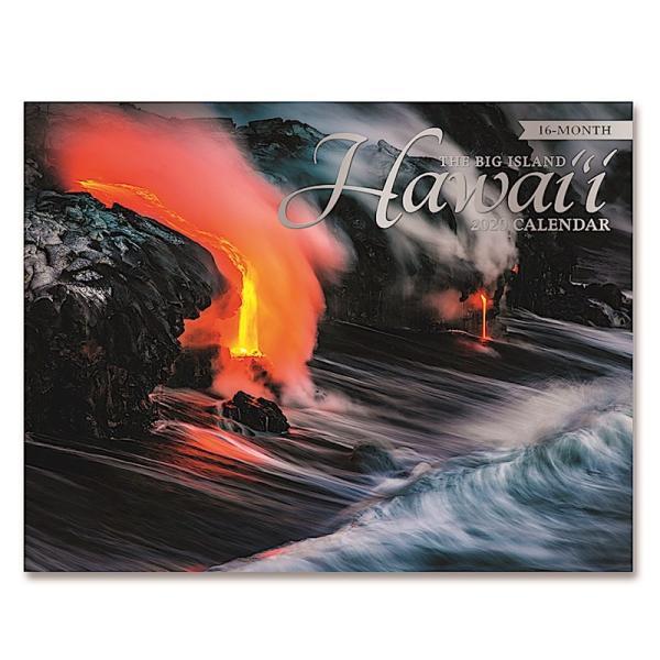 送料無料! 2020年 アイランドヘリテイジ社製 ハワイカレンダー (16カ月カレンダー) Hawai'i: The Big Island ハワイ島 2020 ハワイアン雑貨|koyomi10