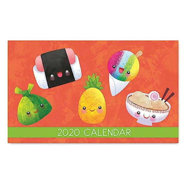 2020年ハワイカレンダー(ミニサイズ)ハワイアンダイアリー/スケジュール帳/マンスリーカレンダー Ono Party オノ・パーティー koyomi10