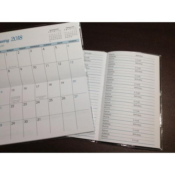 送料無料! 2020年ハワイカレンダー(ミニサイズ)ハワイアンダイアリー/スケジュール帳/マンスリーカレンダー Double Rainbow ダブル・レインボー|koyomi10|02