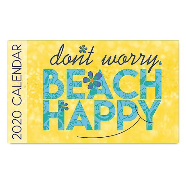 2020年ハワイカレンダー(ミニサイズ)ハワイアンダイアリー/スケジュール帳/マンスリーカレンダー Beach Happy ビーチ・ハッピー|koyomi10