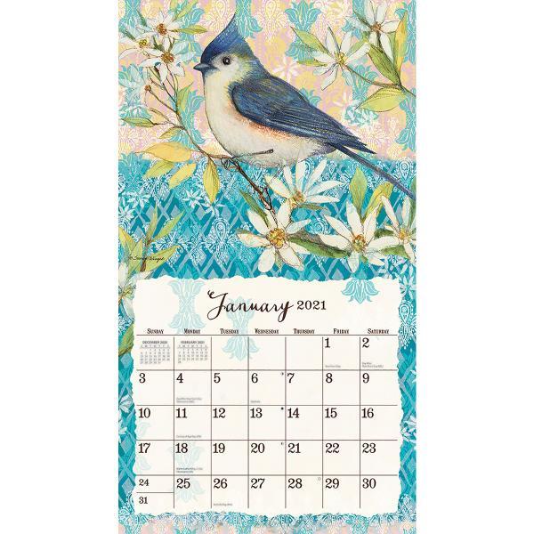 送料無料!2020年 ラング社カレンダー(Lang) Bohemian Garden  ボヘミアン・ガーデン Susan Winget|koyomi10|03