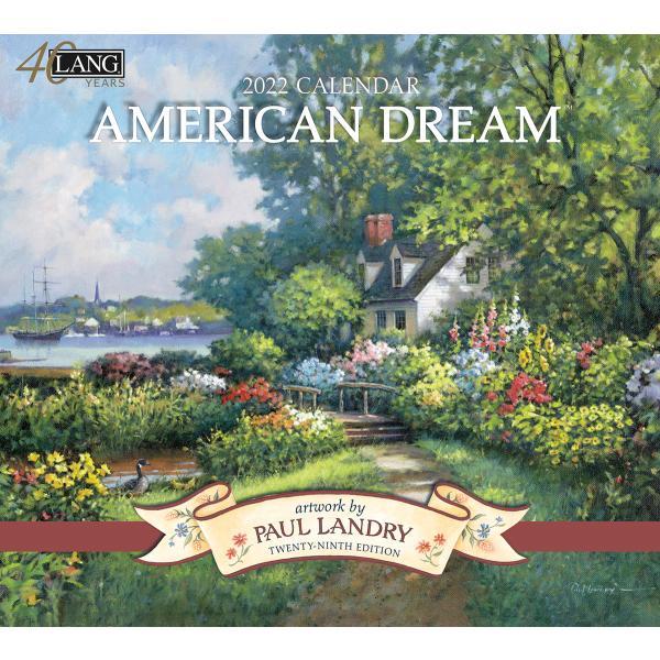 送料無料!2020年 ラング社カレンダー American Dream  アメリカン・ドリーム Paul Landry|koyomi10