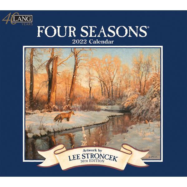 送料無料!2020年 ラング社カレンダー(Lang) Four Seasons   フォー・シーズン Lee Stroncek|koyomi10