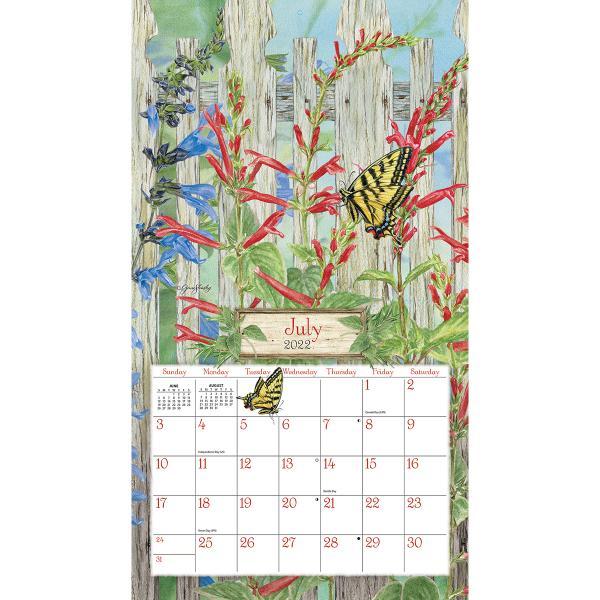 送料無料!2020年 ラング社カレンダー(Lang) Herb Garden   ハーブ・ ガーデン Jane Shasky|koyomi10|03