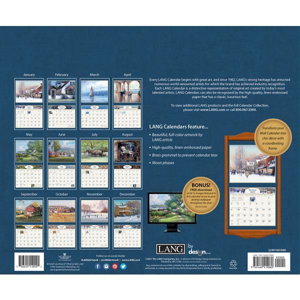 送料無料!2020年 ラング社カレンダー American Dream  アメリカン・ドリーム Paul Landry|koyomi10|02