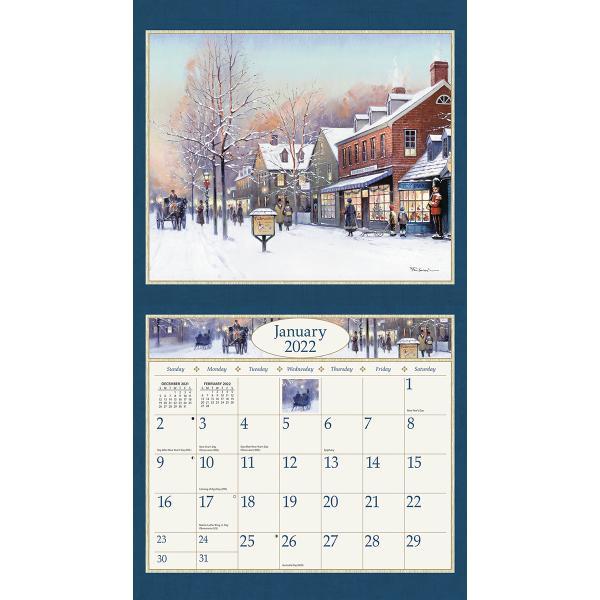 送料無料!2020年 ラング社カレンダー American Dream  アメリカン・ドリーム Paul Landry|koyomi10|03