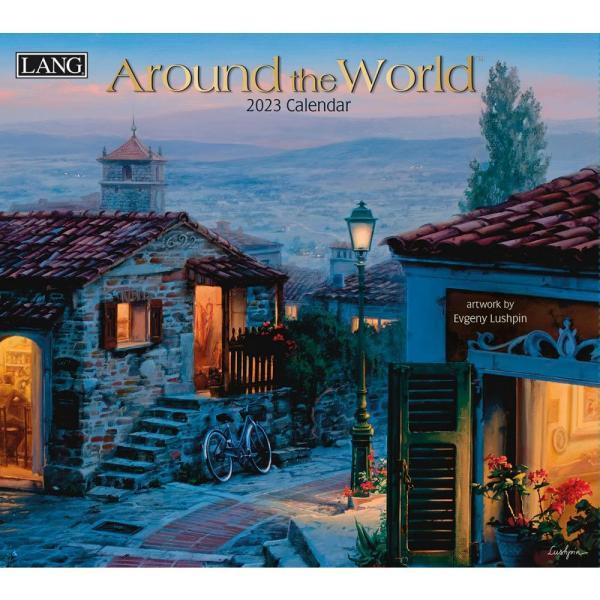 送料無料!2020年 ラング社カレンダー Around The World  アラウンド・ザ・ワールド  Evgeny Lushpin|koyomi10