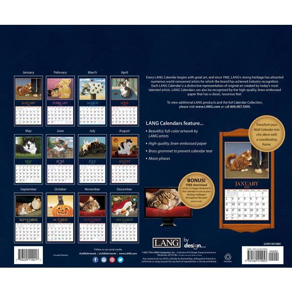 送料無料!2020年 ラング社カレンダー American Cat  アメリカン・キャット Lowell Herrero|koyomi10|02