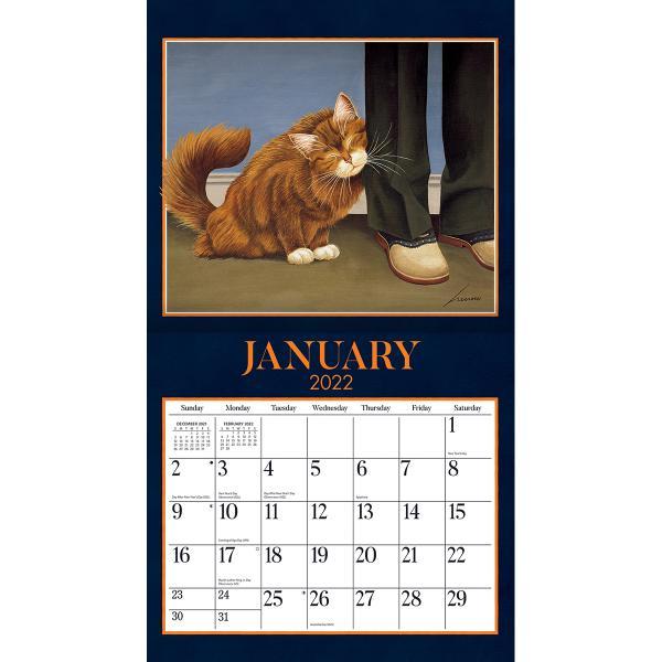送料無料!2020年 ラング社カレンダー American Cat  アメリカン・キャット Lowell Herrero|koyomi10|03