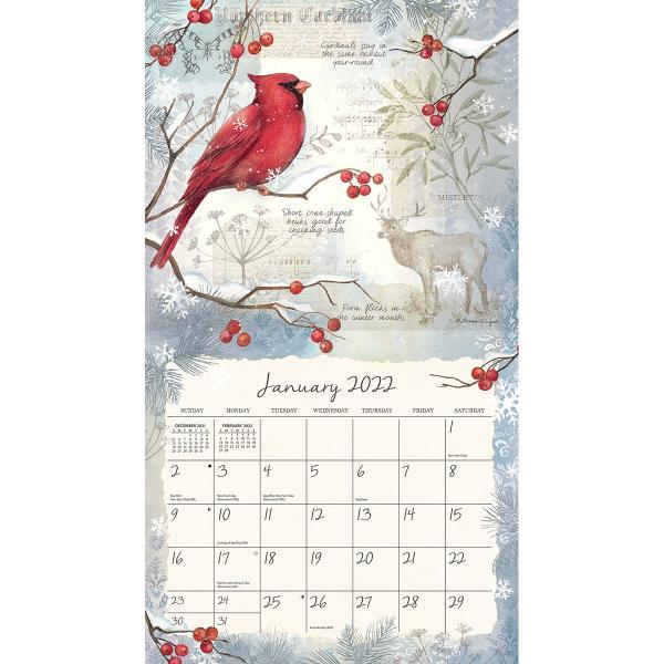 送料無料!2020年 ラング社カレンダー(Lang) Field Guide  フィールド・ガイド Susan Winget koyomi10 03