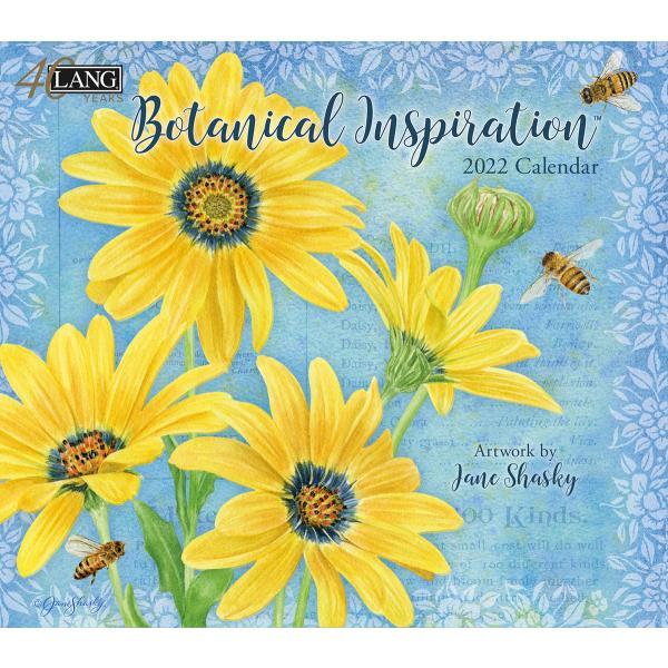 送料無料!2020年 LANG ラングカレンダー Botanical Inspiration  ボタニカル・ インスピレーション Jane Shasky|koyomi10