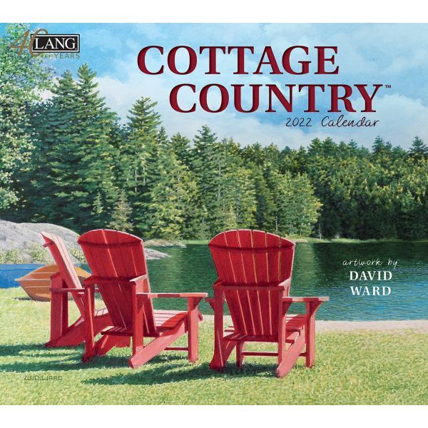 送料無料!2020年 ラング社カレンダー(Lang) Cottage Country  カテージ・カントリー David Ward|koyomi10
