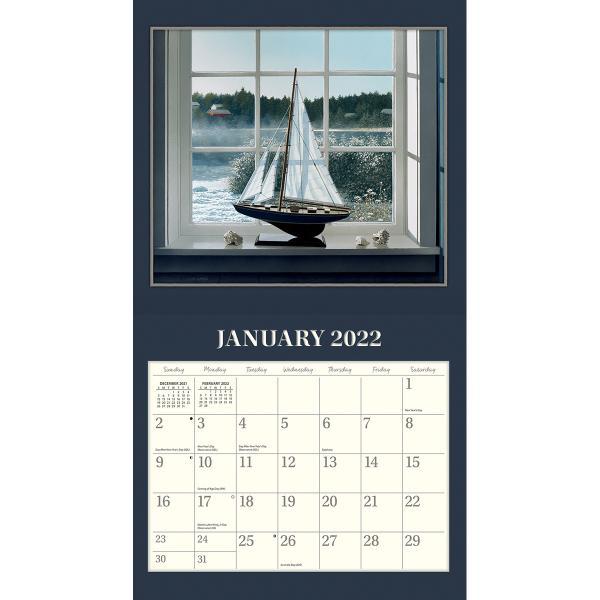 送料無料!2020年 ラング社カレンダー(Lang) Cottage Country  カテージ・カントリー David Ward|koyomi10|03