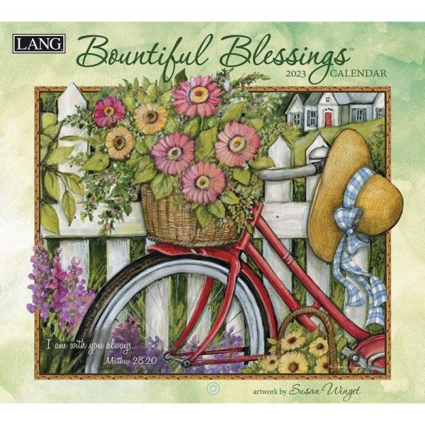 送料無料!2020年 ラング社カレンダー Bountiful Blessing  バウンティフル・ ブレッシング Susan Winget|koyomi10