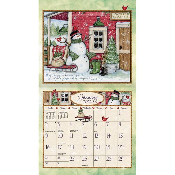 送料無料!2020年 ラング社カレンダー Bountiful Blessing  バウンティフル・ ブレッシング Susan Winget|koyomi10|03