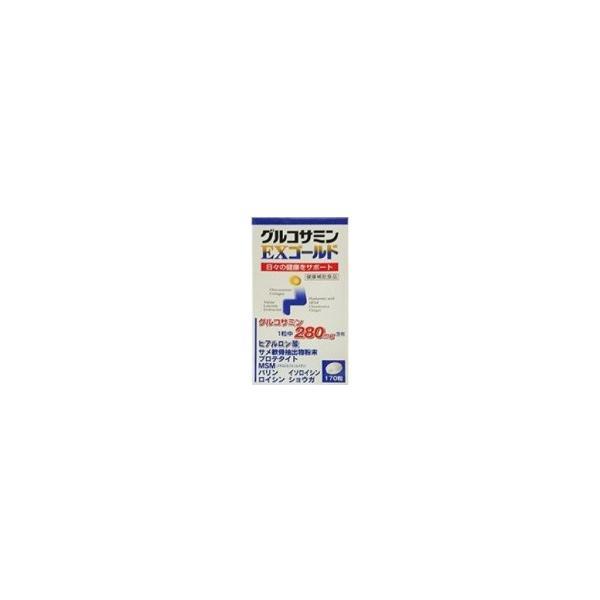 グルコサミンEXゴールド 170粒 送料無料 ヒアルロン酸 MSM プロテタイト コンドロイチン 膝  東亜薬品 健康食品  kozukata-m