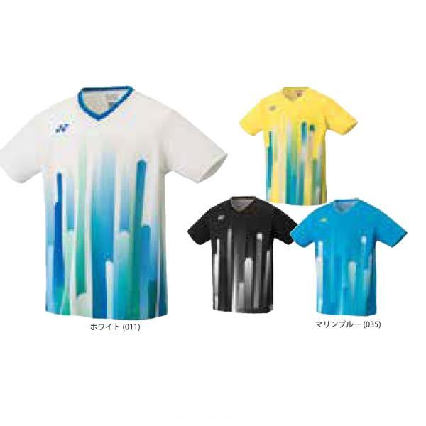 00e816a6db5121 ヨネックス YONEX バドミントンウェア メンズ ゲームシャツ フィットスタイル 10285 2019SS| ...