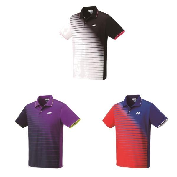 64d041a630d47 ヨネックス YONEX テニスウェア ユニセックス ゲームシャツ フィットスタイル 10313 2019SSの画像