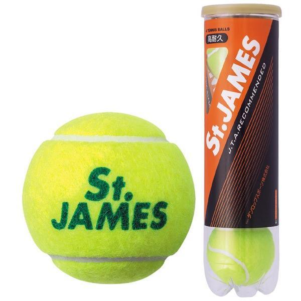 DUNLOP ダンロップ 「St.JAMES セントジェームス  15缶/60球 」テニスボール|kpi|02