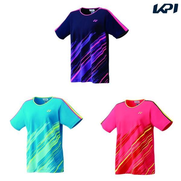 「365日出荷」ヨネックス YONEX バドミントンウェア レディース ゲームシャツ 20497 2019SS  夏用 冷感『即日出荷』