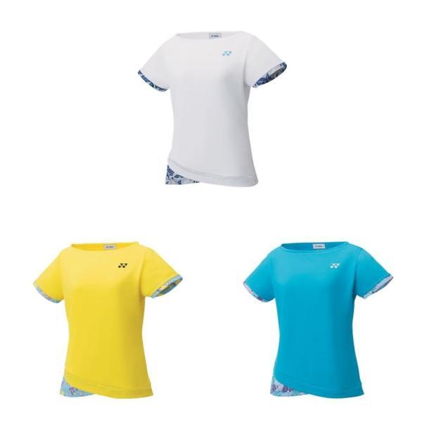「365日出荷」ヨネックス YONEX テニスウェア ジュニア ゲームシャツ 20502J 19FW  夏用 冷感『即日出荷』