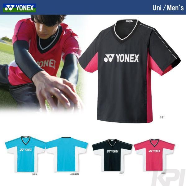 『即日出荷』 YONEX ヨネックス 「Uni 半袖Vブレーカー 30039」スポーツウェア「SS」 kpi