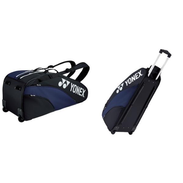 ヨネックス YONEX テニスバッグ・ケース  ラケットバッグ キャスター付  テニス6本用  BAG1932C kpi