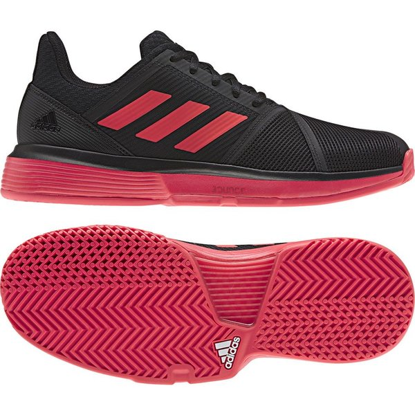 Fitness adidas Mens Courtjam Bounce M Tennis Shoes Footwear