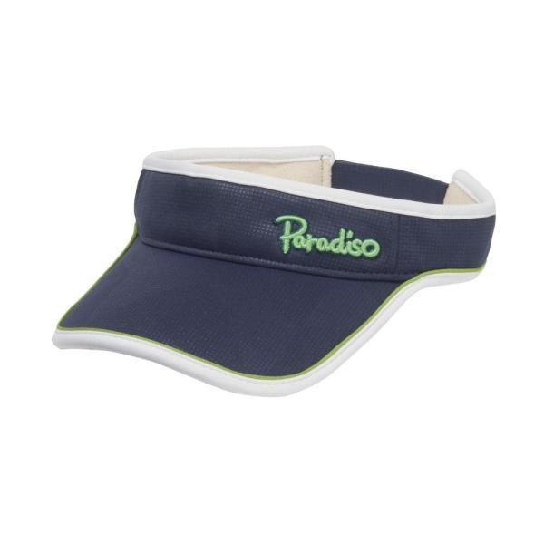 パラディーゾ PARADISO テニスアクセサリー レディース トライアングルバイザ CPCW97 2019FW|kpi|02