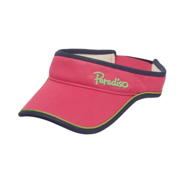 パラディーゾ PARADISO テニスアクセサリー レディース トライアングルバイザ CPCW97 2019FW|kpi|03