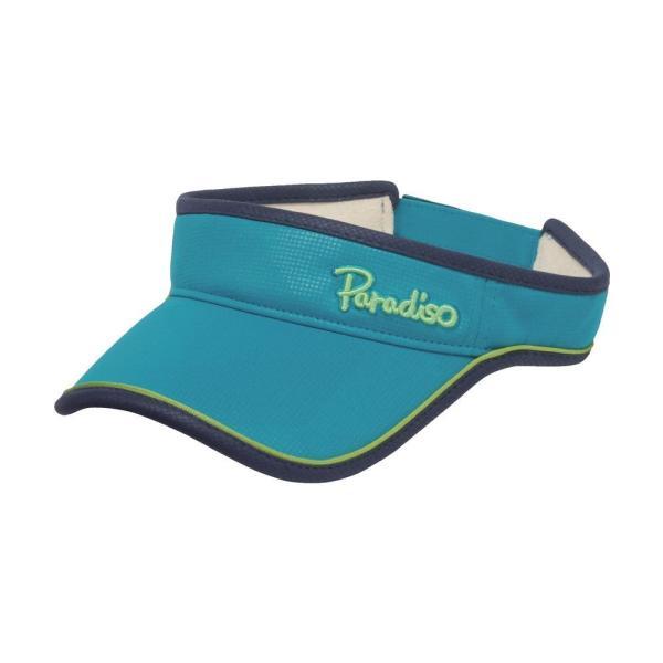 パラディーゾ PARADISO テニスアクセサリー レディース トライアングルバイザ CPCW97 2019FW|kpi|04
