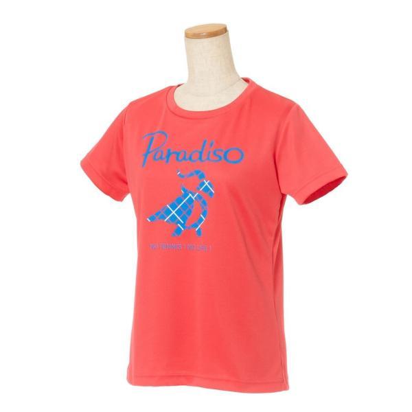 パラディーゾ PARADISO テニスウェア レディース 半袖シャツ KCL20A 2018FW[ポスト投函便対応] kpi 04