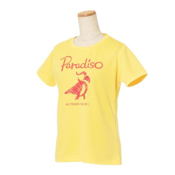 パラディーゾ PARADISO テニスウェア レディース 半袖シャツ KCL20A 2018FW[ポスト投函便対応] kpi 05
