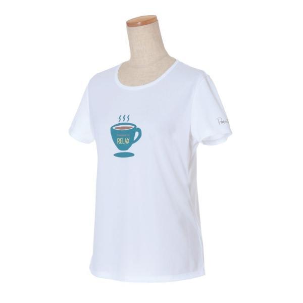 パラディーゾ PARADISO テニスウェア レディース 半袖シャツ QCL21A 2019FW[ポスト投函便対応] kpi 02