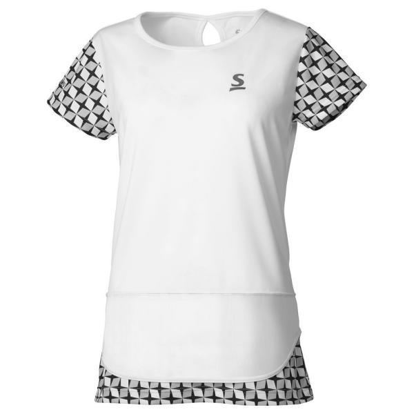 スリクソン SRIXON テニスウェア レディース ゲームシャツ SDP-1965W 2019FW 『即日出荷』 [ポスト投函便対応]|kpi|02