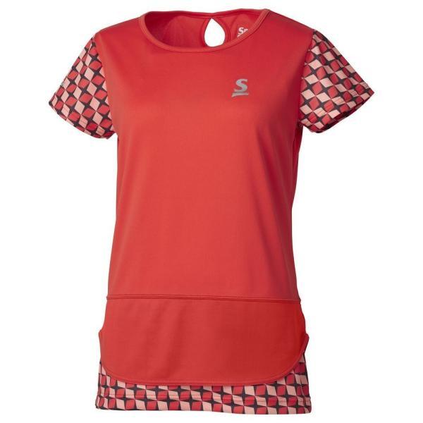 スリクソン SRIXON テニスウェア レディース ゲームシャツ SDP-1965W 2019FW 『即日出荷』 [ポスト投函便対応]|kpi|03