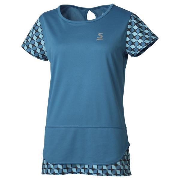 スリクソン SRIXON テニスウェア レディース ゲームシャツ SDP-1965W 2019FW 『即日出荷』 [ポスト投函便対応]|kpi|04